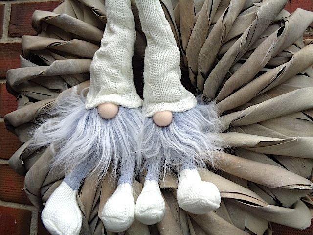 2 Strick Wichtel Strickwichtel Filzwichtel Shabby Chic Weiß 37 Cm ♥ In Möbel  U0026 Wohnen, Dekoration, Dekofiguren