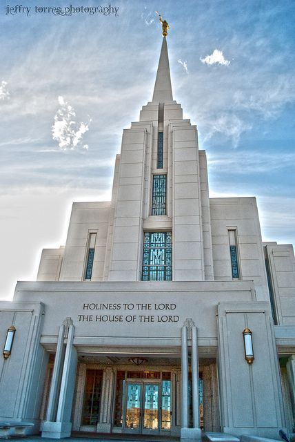 Rexburg Idaho LDS Temple. So excited for my sister to be here in the fall!!