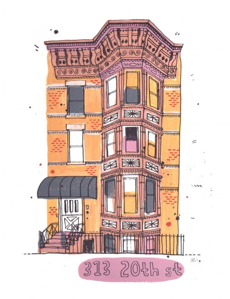 '313 20th St Brooklyn' by James Gulliver Hancock