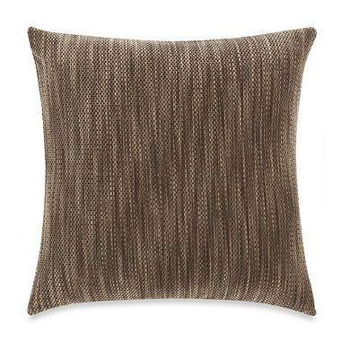 Sure Fit® Space-Dyed Stretch Pique 18-Inch Square Toss Pillow - BedBathandBeyond.com