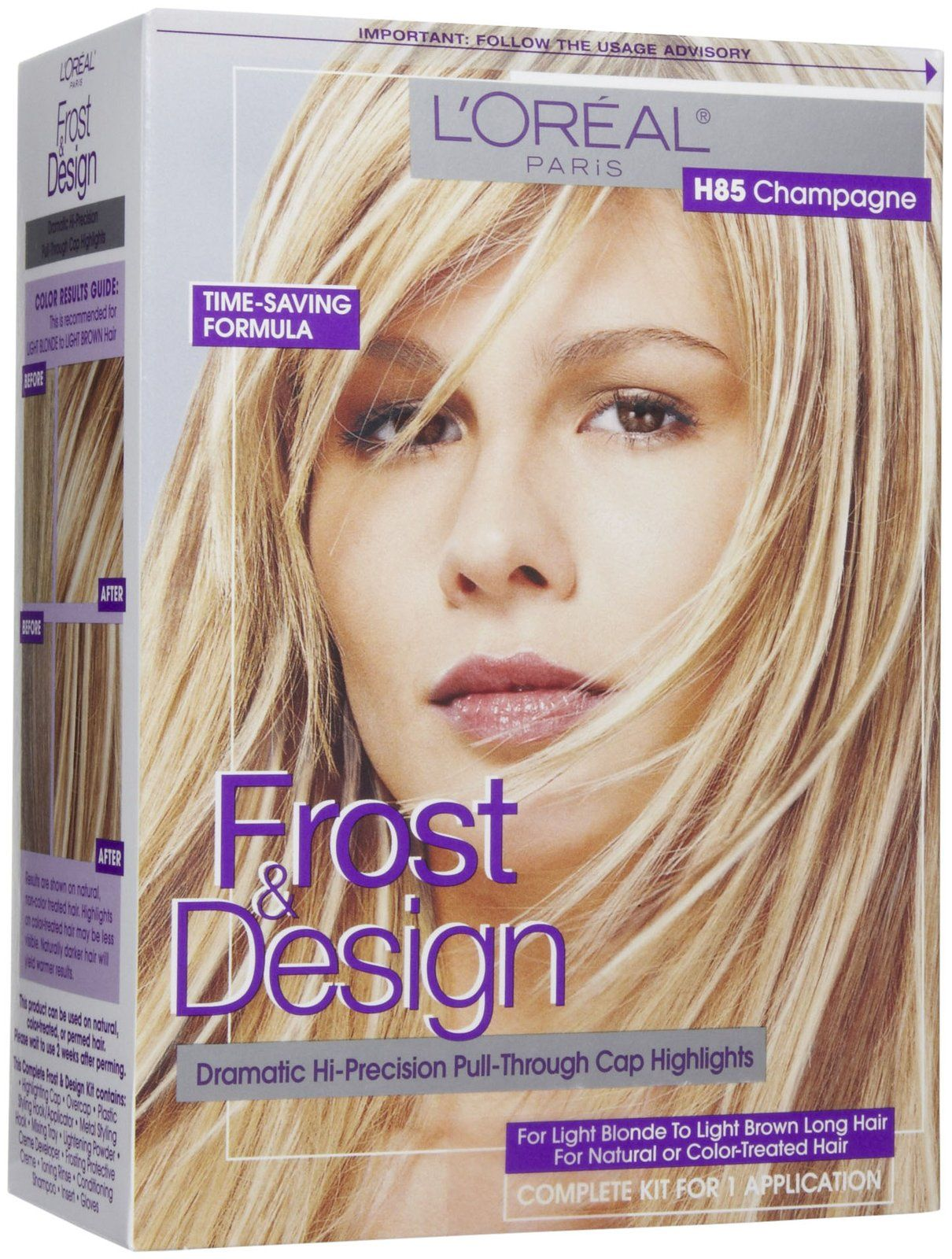 Loreal Paris Frost And Design Highlights Champagne Free Shipping