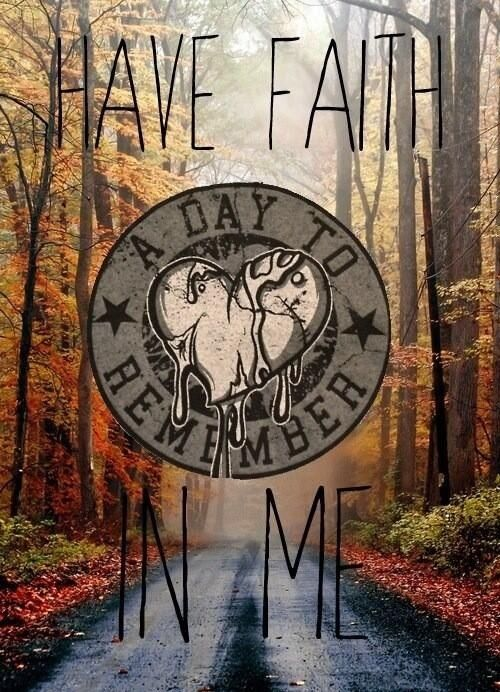 Have Faith In Me A Day To Remember Music Bands A Day To