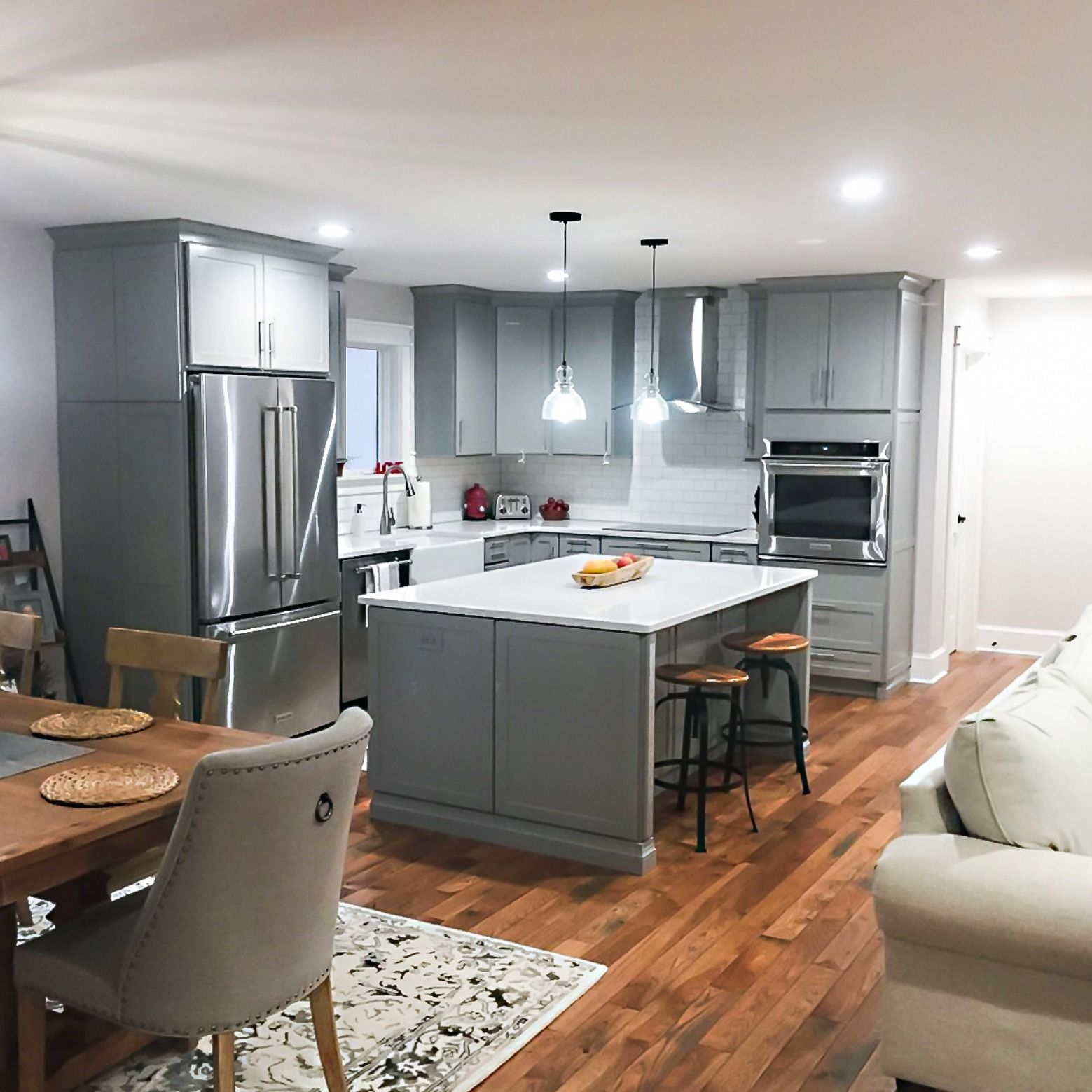 Kemper Echo Gray Kitchen Kitchen Projects Design Kitchen Redesign Free Kitchen Design