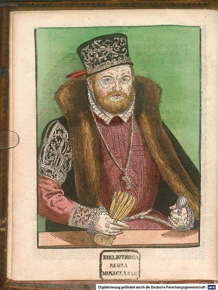 Biblia Germanicolatina   Wittenberg 1574