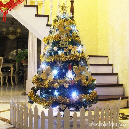 Indoor LED xmas trees made in China Artificial Christmas Trees