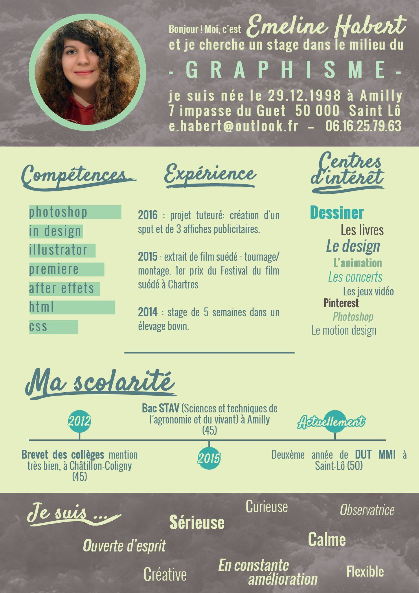 Em Hylt On Twitter Resume Graphic