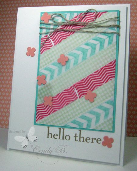 Tape It set from Stampin' Up!  by Cindy Beach stampspaperandink.typepad.com
