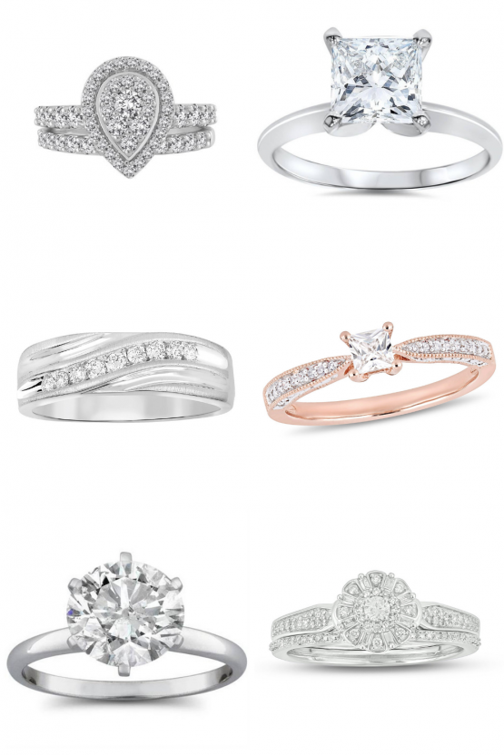 10 Best Websites To Buy Wedding Engagement Rings Online With