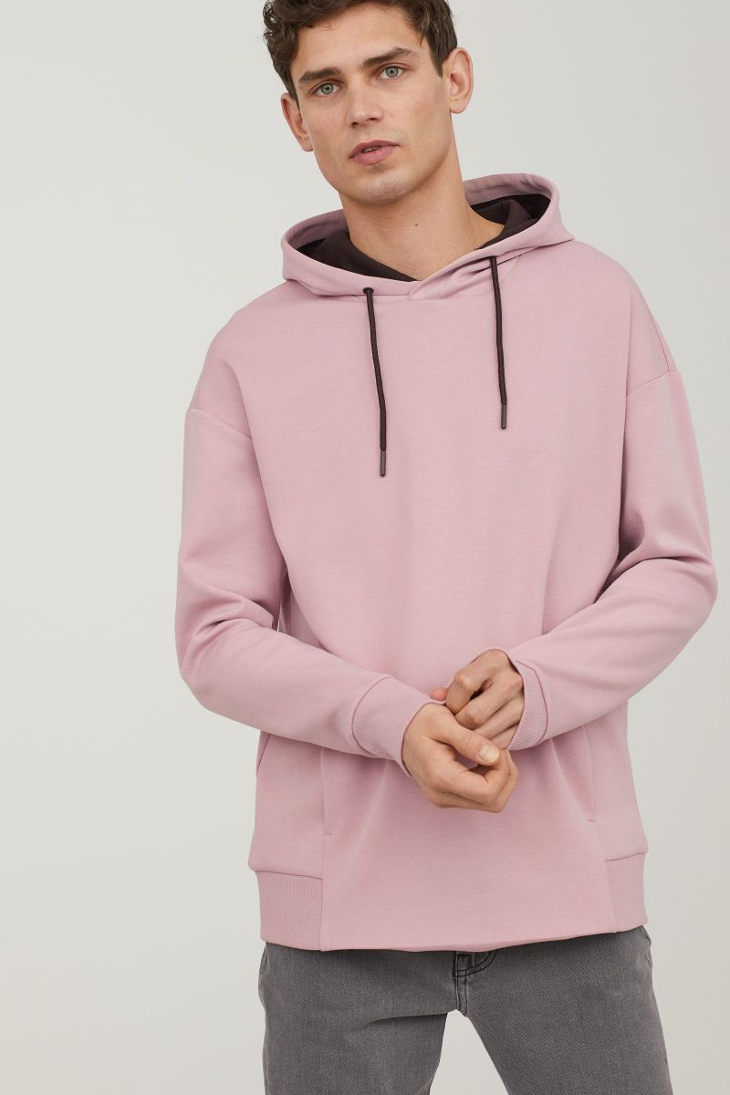a1f4f1cd88 Hooded Sweatshirt | Antique rose | MEN | H&M US | Clothes | Hooded ...