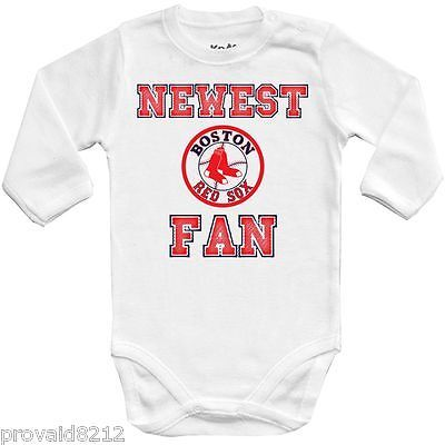 Boston Red Sox Jersey Baby Shirt Bodysuit Personalized With Yankee Butt