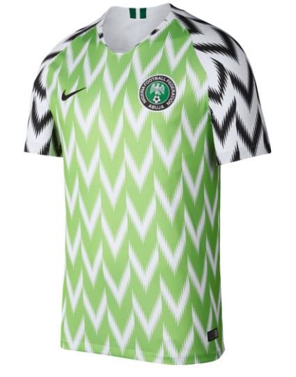 2465603be 2018 World Cup of Soccer Team Nigeria FIFA Home Replica Green Jersey  XX-Large (eBay Link)