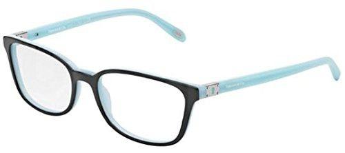 e9e32fe53b3 TIFFANY Eyeglasses TF 2094 8055 Black Blue 52MM