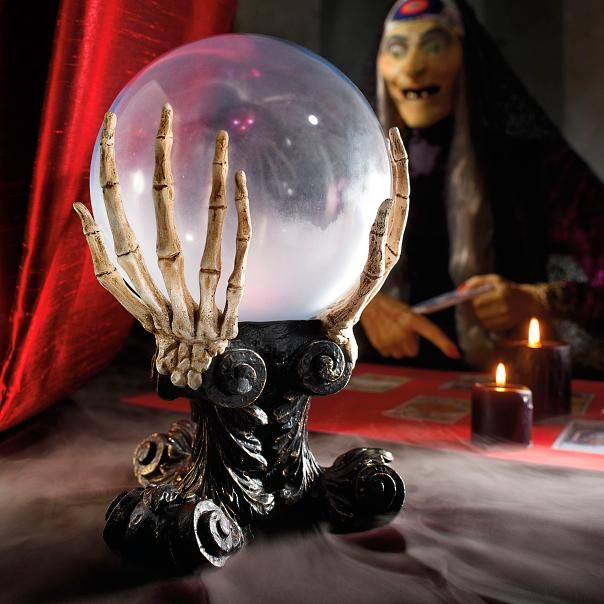 Glass Crystal Ball Halloween Products! Pinterest Glass crystal - bulk halloween decorations