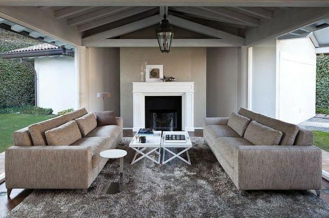 Modernes Wohnzimmer gestalten – Wohnideen in Neutralfarben ...