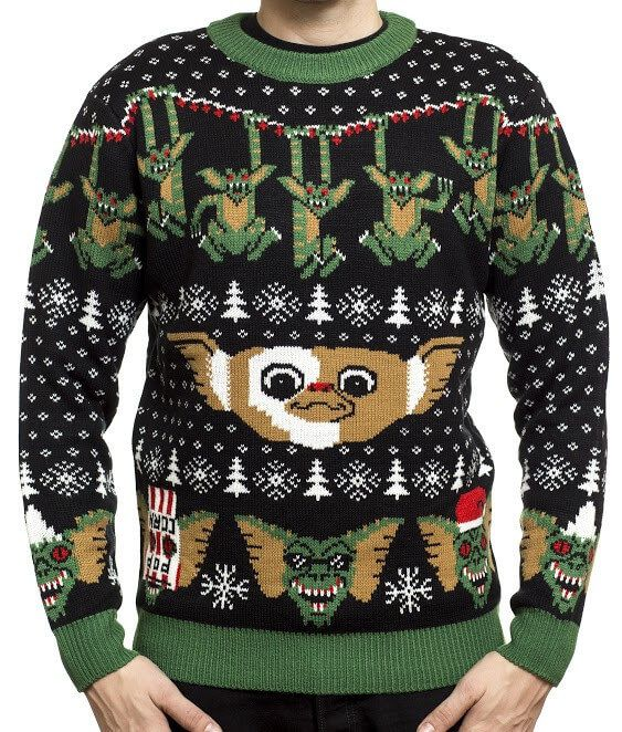Gremlins Ugly Christmas Sweater Shopping List Christmas Sweaters
