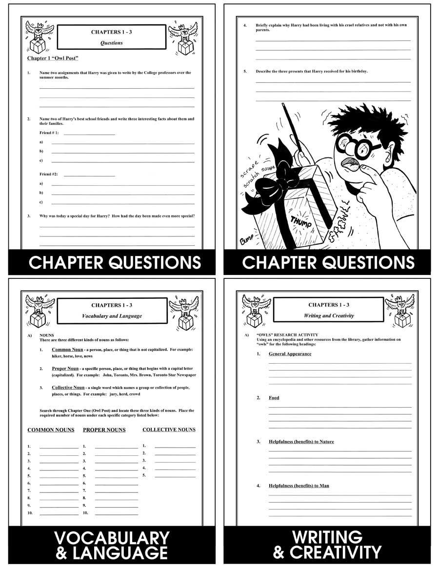 Harry Potter And The Prisoner Of Azkaban Novel Study Chapter Slice Grades 4 To 8 Ebook Chapter Sl Prisoner Of Azkaban Harry Potter Vocabulary Azkaban [ 1165 x 900 Pixel ]
