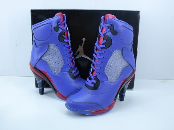 womens nike air jordan 7 high heel