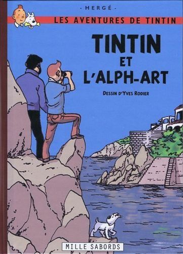 Tintin L Alph Art Pastiche Amazon Fr Herge Yves