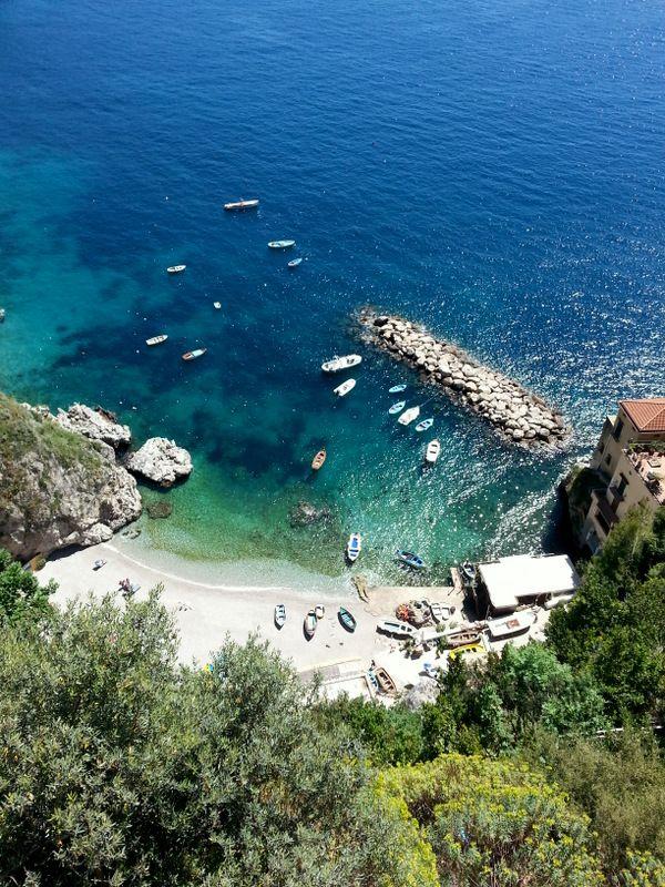 Conca Dei Marini on the Amalfi Coast.  www.amalficoastdestination.com
