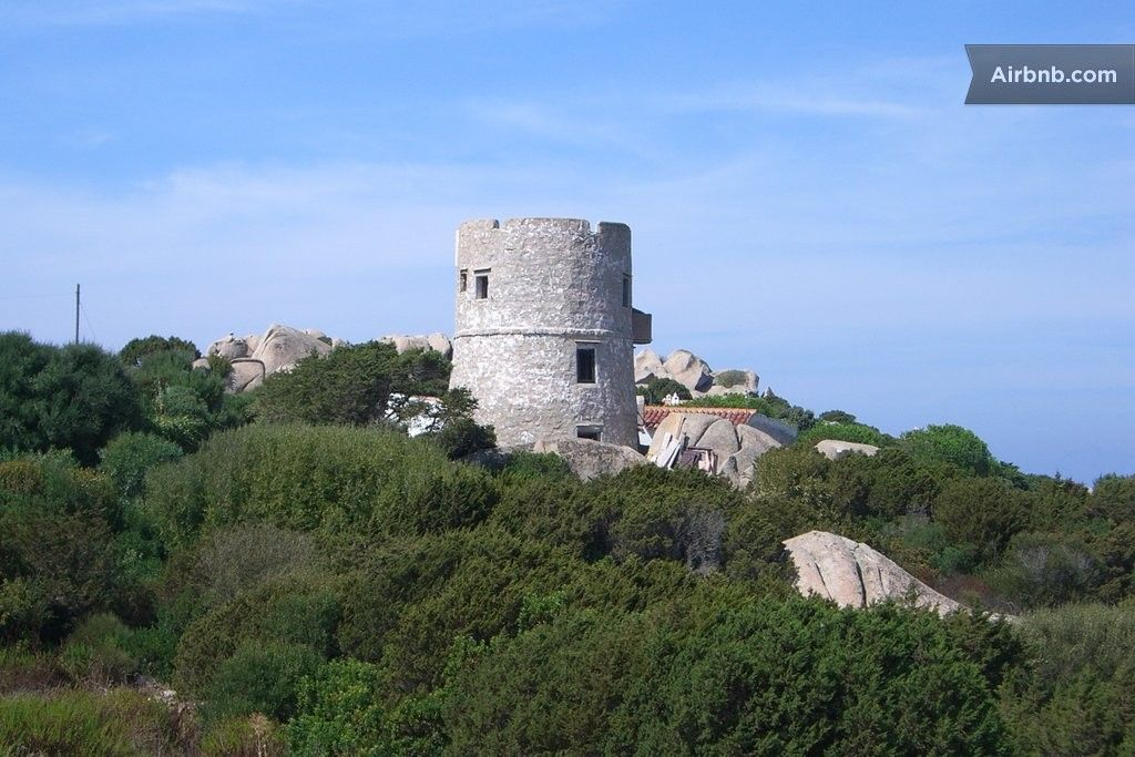Restored Saracen Tower Capo Testa In Santa Teresa Gallura Sardinien