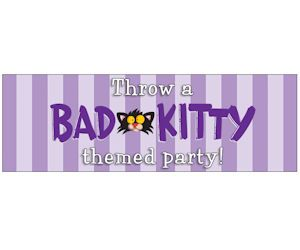 Want to celebrate Bad Kitty's birthday this May? Or want to throw a Bad Kitty-themed birthday party for someone else? Then you need the Bad Kitty party kit! With invitations, recipe and decoration guide, Bad Kitty masks, sticker sheets, birthday banner, poster, and reproducible activities – this kit will make for a purrfect event.  ! Send an email to kids@macmillanusa.com with your name and address to enter to receive a kit. http://ifreesamples.com/throw-bad-kitty-party-party-kit/