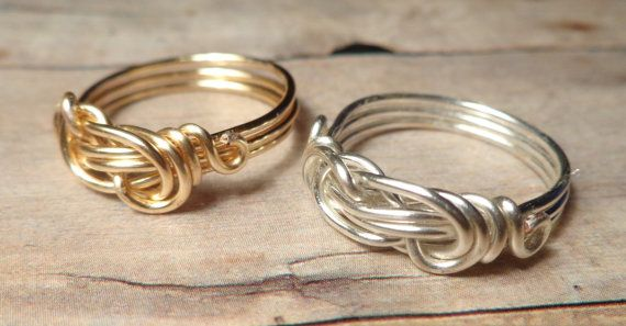 Silver Infinity Love Ring Silver Infinity Ring by DonKatChaJewelry