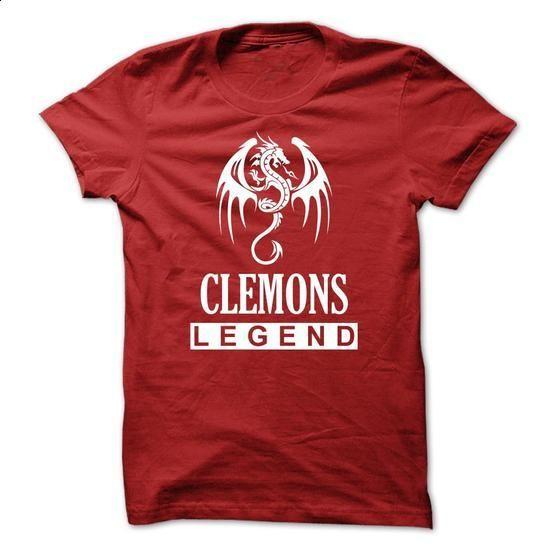 Dragon - CLEMONS Legend TM003 - #disney hoodie #sweater knitted. PURCHASE NOW => https://www.sunfrog.com/Names/Dragon--CLEMONS-Legend-TM003.html?68278