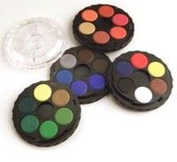 Save On Discount Kohinoor Watercolor Paint Pan Set Wheel Stack
