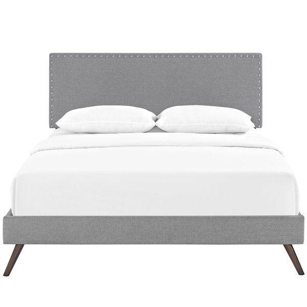 Modway Phoebe Upholstered Platform Bed & Reviews | Wayfair | 1801 ...