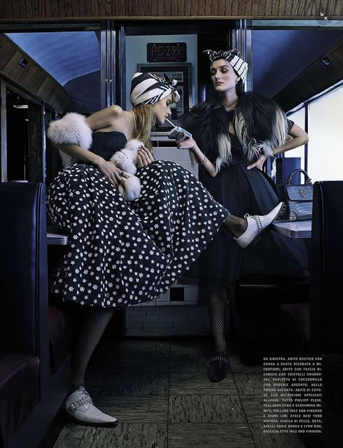 'Fun Time' by Emma Summerton for Vogue Italia April 2015 - Fashion Copious