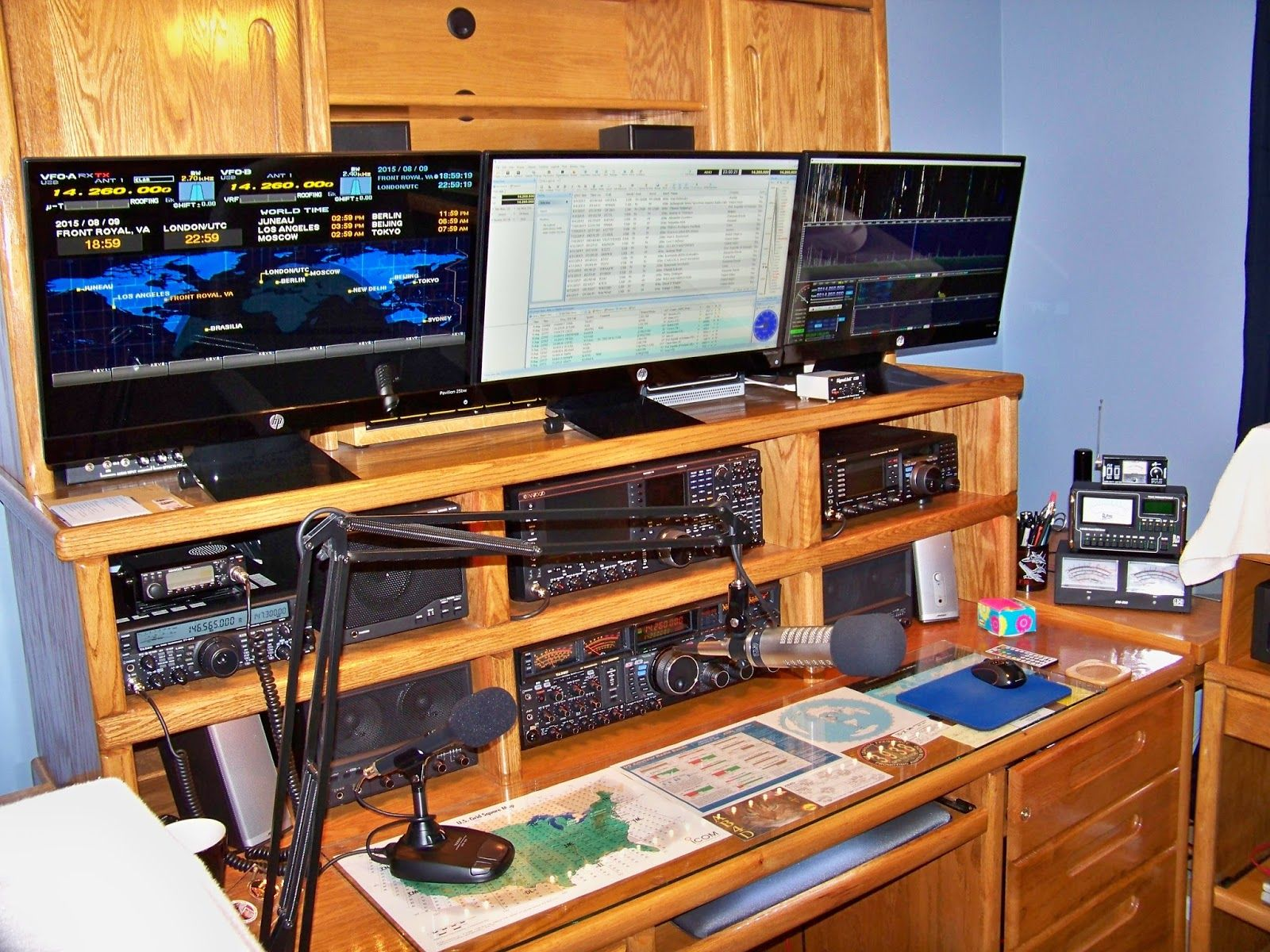 Prime Image Result For Amateur Radio Furniture Home Decor Ham Home Interior And Landscaping Eliaenasavecom