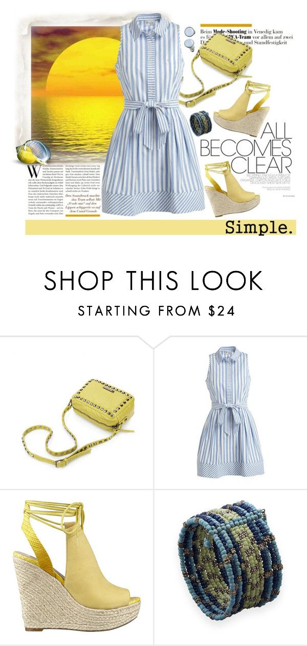 """Shirtdress"" by lence-59 ❤ liked on Polyvore featuring Milly, GUESS, BillyTheTree, CO, Skagen and shirtdress"