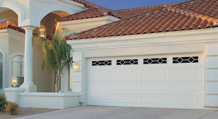 Stratford Garage Door Traditional Style In Low Maintenance Steel R Value 6 48 6 64 Garage Doors Garage Door Repair Glass Garage Door