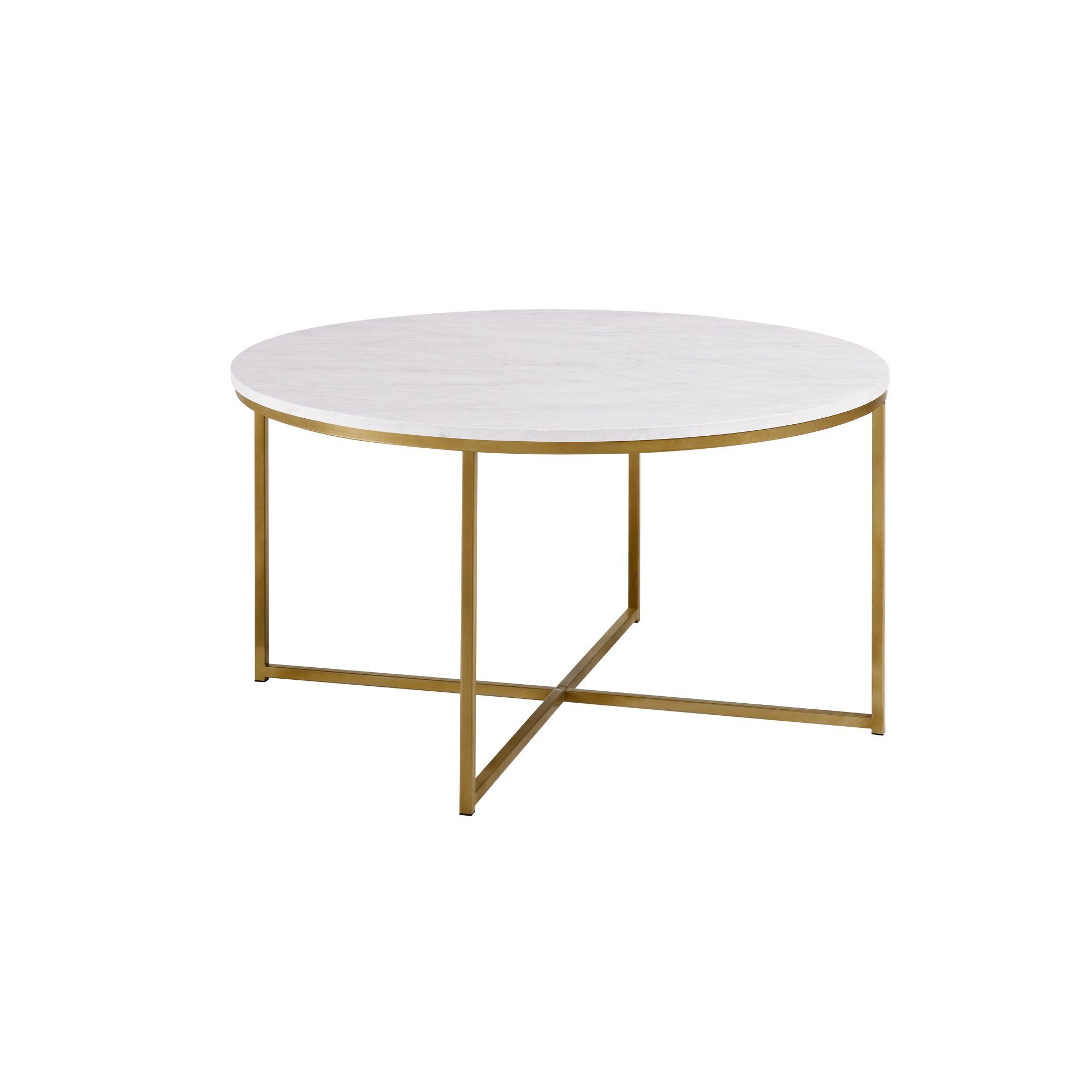 Ember Interiors Daisy Faux Marble And Gold Round Coffee Table Marble Gold Walmart Com Coffee Table Round Coffee Table Round Glass Coffee Table [ 2000 x 2000 Pixel ]