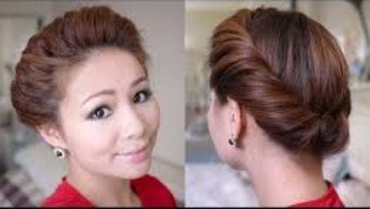 Http Www Dailymotion Com Styleinn 2 Minutes Spring Twist Hairstyle Tutorial Twist Hairstyles Hair Tutorial Spring Twist Hair