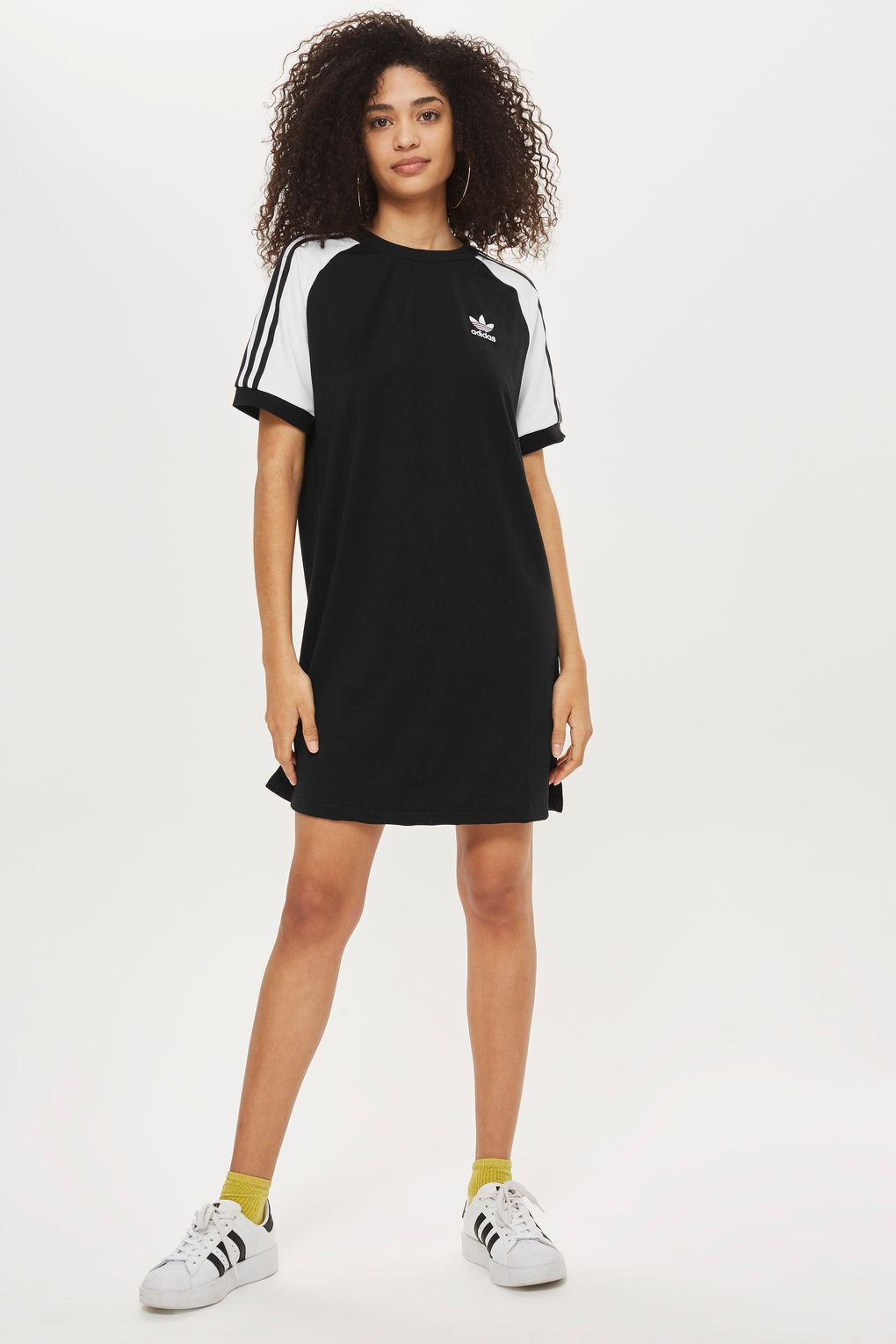 22bea812ef5b 3 Striped T-Shirt Dress by Adidas Originals in 2019 | Fresh | Adidas ...