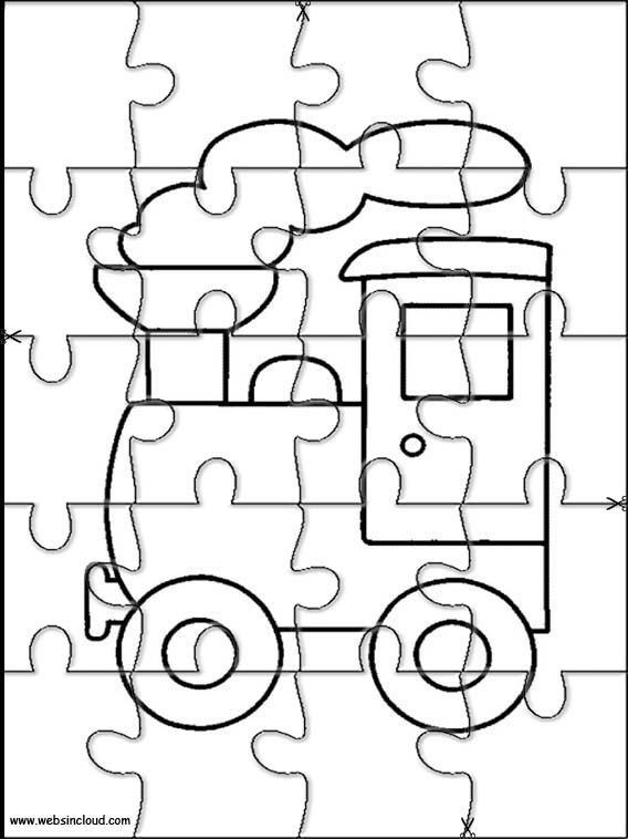 Printable jigsaw puzzles to cut out for kids Miscellaneous
