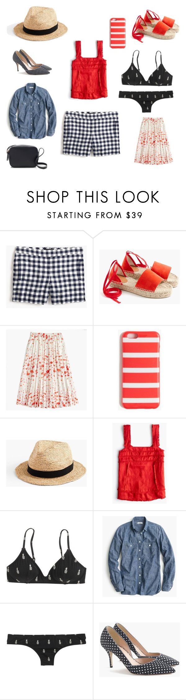 """""""Summer Uniform"""" by thesocialny on Polyvore featuring J.Crew"""