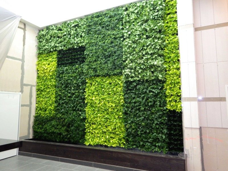 GSky Green Wall Del Amo Fashion Center