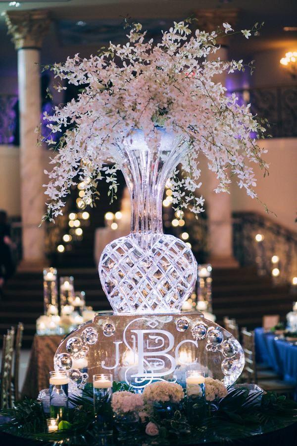 Elegant Ballroom Wedding with Lots of Sparkle | Wedding Details