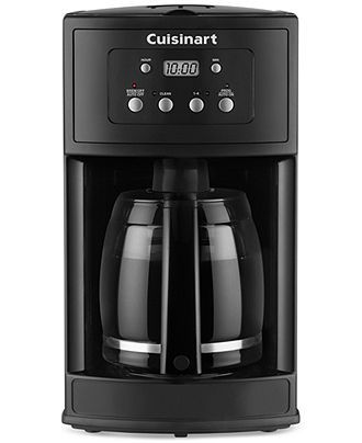 Cuisinart DCC500 12-Cup Programmable Coffee Maker - Cuisinart Coffee & Espresso - Kitchen - Macy's