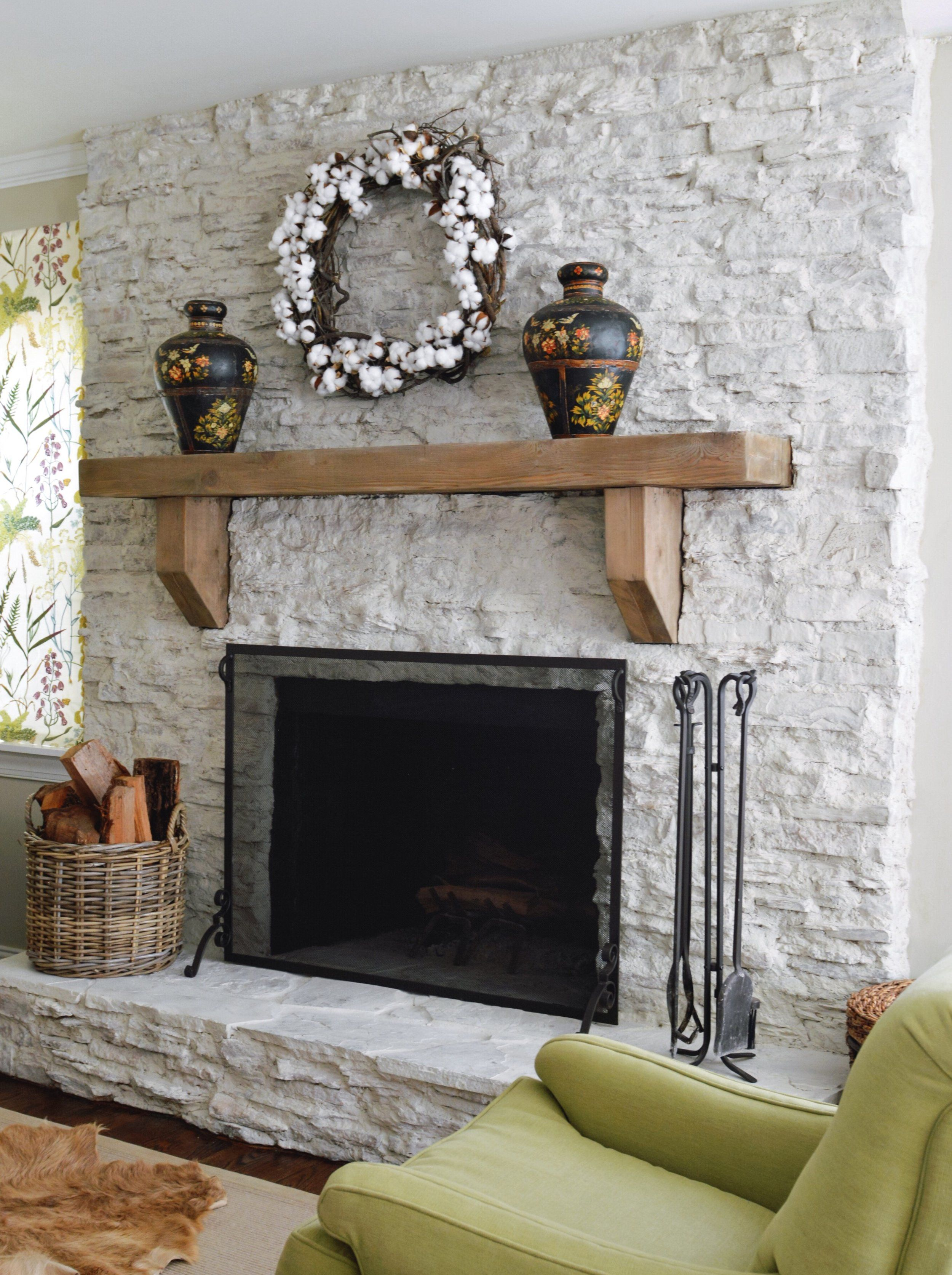 Before & After Our Fireplace Makeover — Hearth and Home