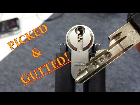 1081 Abus Xp10 Youtube Schlüssel Lockpicking Personalized