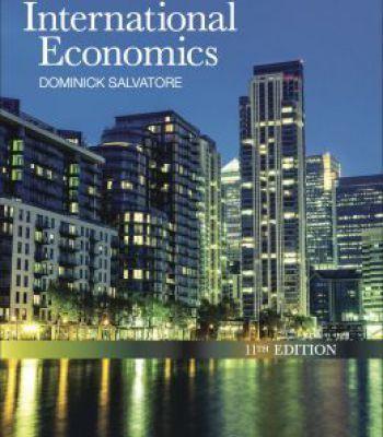 International Economics 11th Edition PDF | Download
