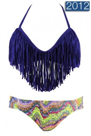 Blue Iris Halter with Foxy Tab Bottom! Fun in the Sun!