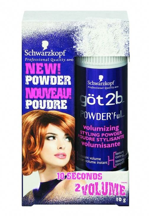 d98fb26ef0 göt2b POWDER'ful Volumizing Styling Powder - Fragrance-free, talc-free.  Volumizes hair at the roots. Ingredients: Silica Silylate, Sodium Benzoate,  ...