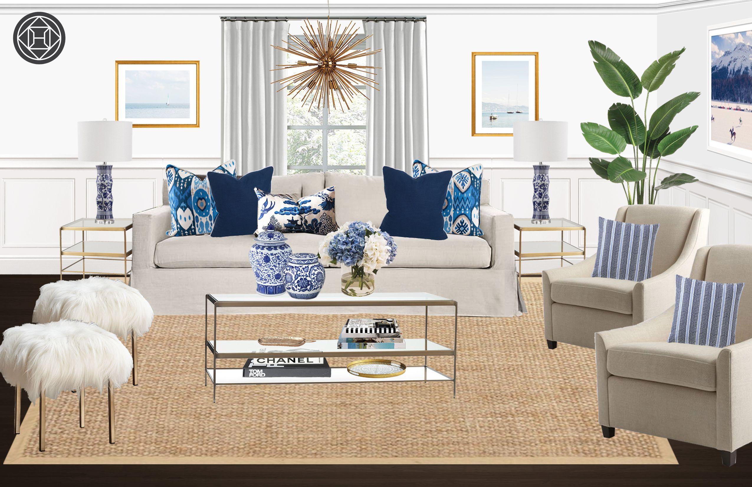 Online interior design and home inspiration havenly - Design living room online ...