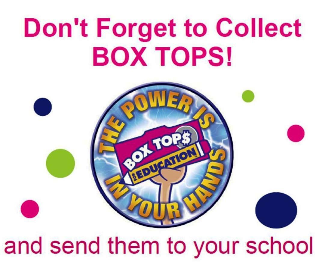 Image result for Box Tops clip art
