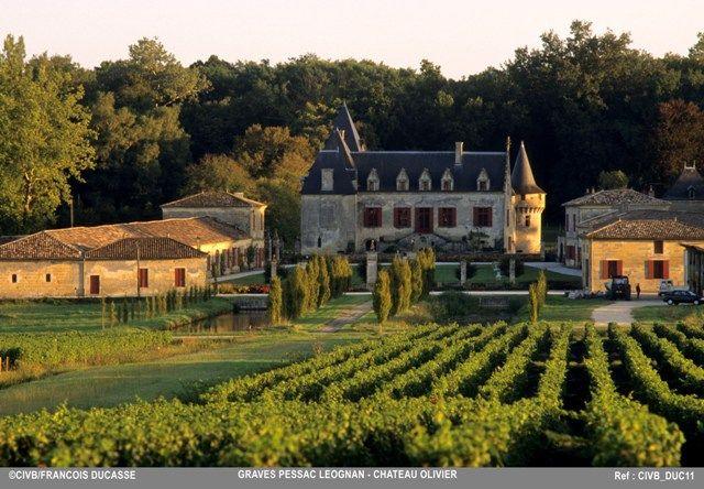 Chateau Olivier Pessac Leognan Chateau France France Wine French Cottage