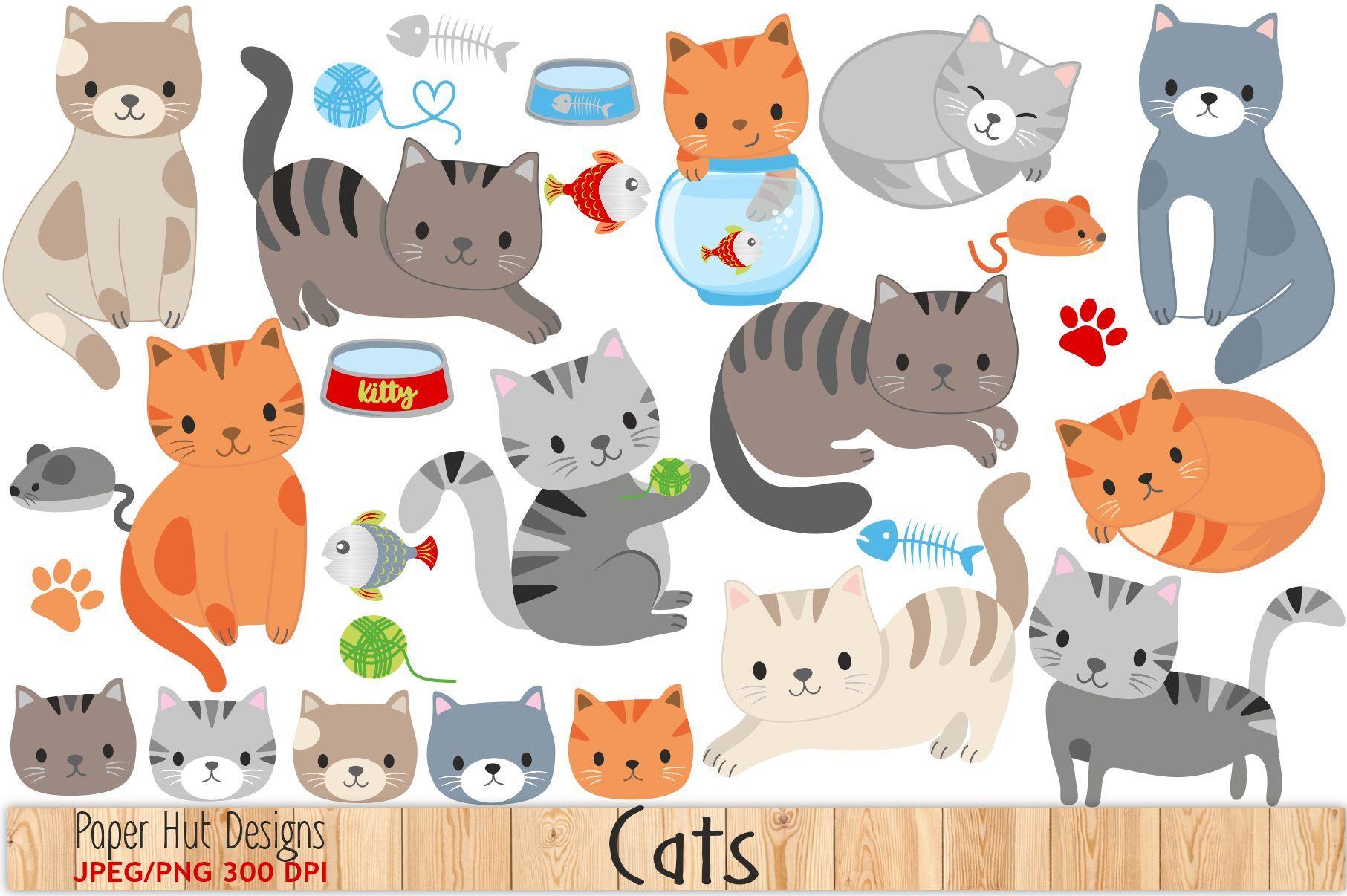 30+ Cute cat face clipart information